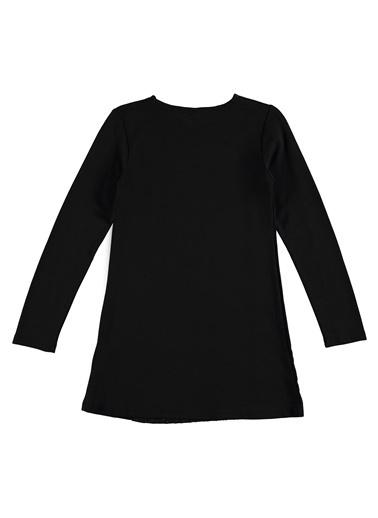 Losan Elbise Siyah